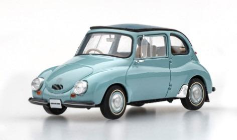 EBBRO 1/43 SUBARU 360 1958 (BLUE)