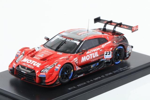 エブロ 1/43 SUPER GT500 2019 MOTUL AUTECH GT-R No,23