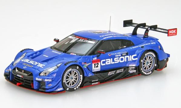EBBRO 1/43 SUPER GT GT500 2019 CALSONIC IMPUL GT-R No.12