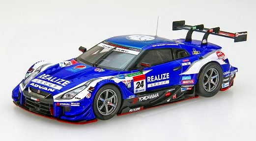 EBBRO 1/43 REALIZE Corporation ADVAN GT-R SUPER GT GT500 2019 No.24