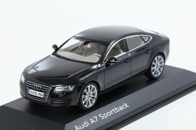 Kyosho 1/43 Audi A7 Sportback Phantom Black  アウディ特注