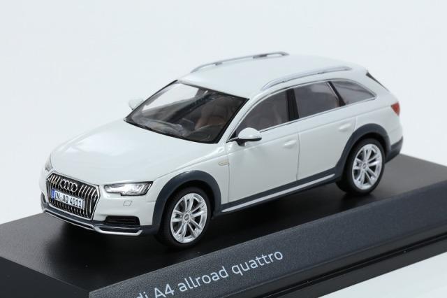Audi 1/43 アウディ A4  オールロード  グレイシアホワイト