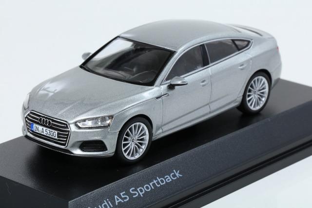 Audi 1/43 アウディ A5 スポーツバック  フロレットシルバー