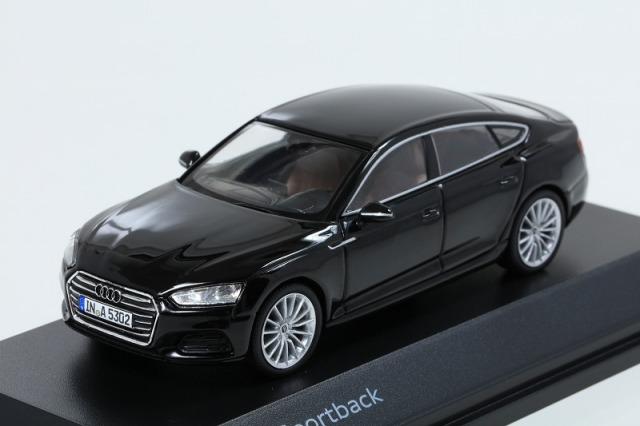 Audi 1/43 アウディ A5 スポーツバック  ミトスブラック