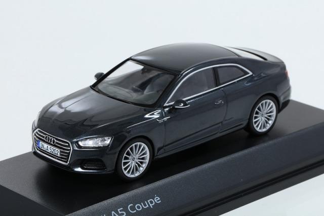 Audi 1/43 アウディ A5 クーペ  マンハッタングレー