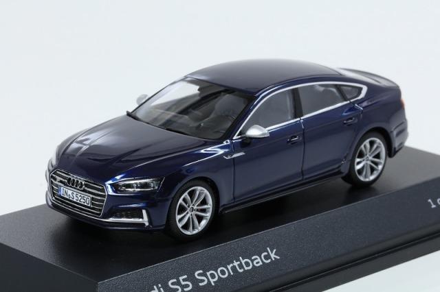 Audi 1/43 アウディ S5 スポーツバック  ナバーラブルー