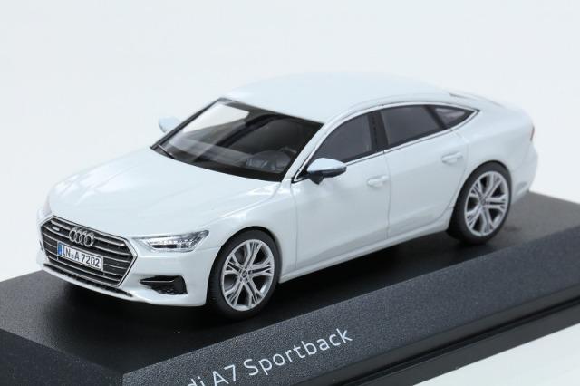 Audi 1/43 アウディ A7 スポーツバック グレイシアホワイト