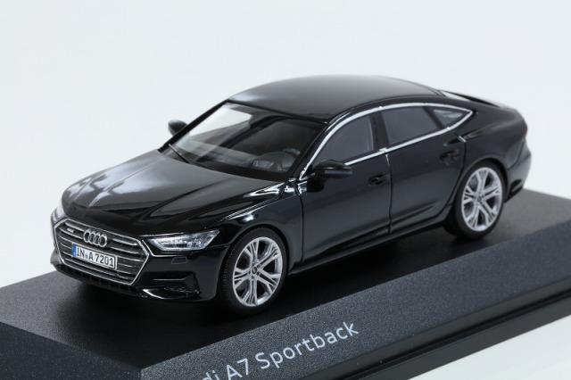 Audi 1/43 アウディ A7 スポーツバック ミトスブラック