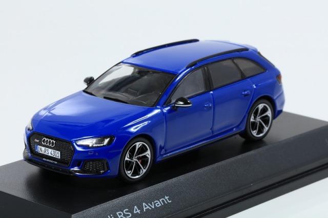 Audi 1/43 アウディ RS 4  アバント ノガロブルー