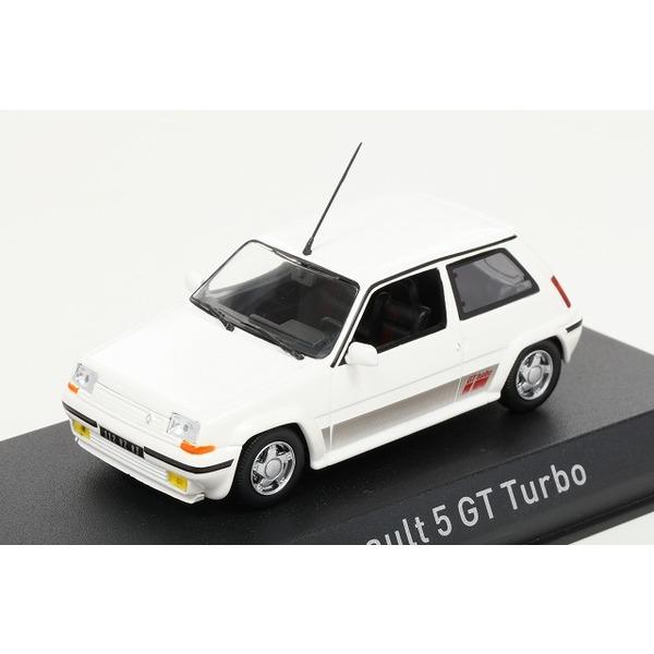 【ノレブ】 1/43 ルノー 5 GT ターボ 1989 (白)