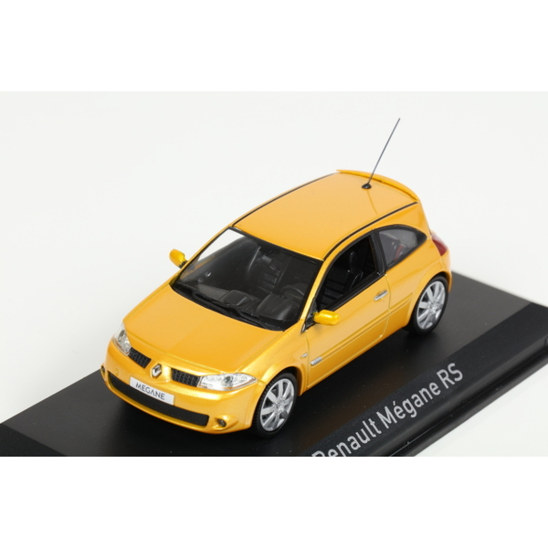 【NOREV】 1/43 ルノー メガーヌ RS 2004 (Yellow Sirius)