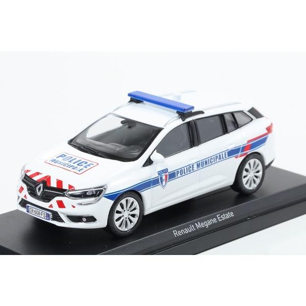 【NOREV】 1/43 ルノー メガーヌ エステート 2016 Police Municipale