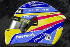 <予約 2021/9月発売予定> Spark 1/5 Fernando Alonso - Alpine - 2021