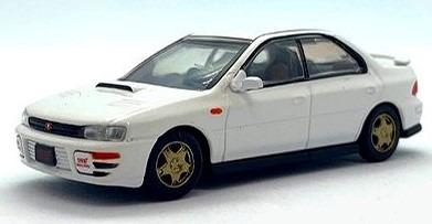 BM CREATIONS 1/64 スバル インプレッサ WRX 1994 ホワイト RHD