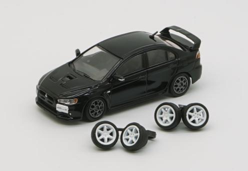 BM CREATIONS 1/64 Mitsubishi Lancer Evolution X Black RHD