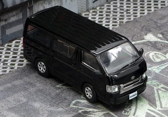 BM CREATIONS 1/64 Toyota  2015 Hiace KDH200V Black RHD