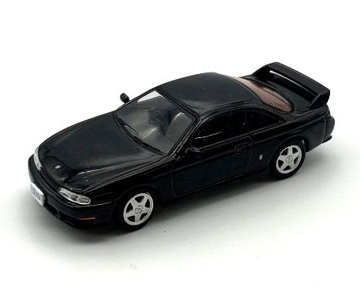 BM CREATIONS 1/64 Nissan SILVIA S14 Black RHD