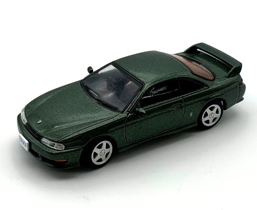 BM CREATIONS 1/64 Nissan SILVIA S14 Green RHD