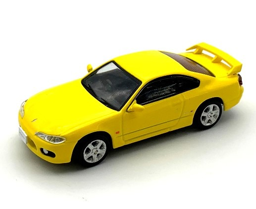 BM CREATIONS 1/64 Nissan SILVIA S15 Yellow RHD