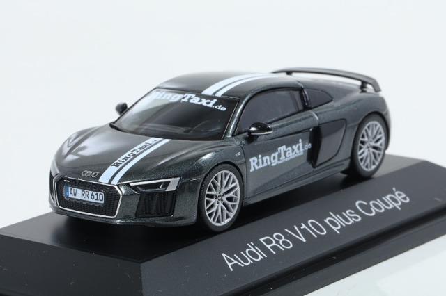 [ヘルパ] 1/43 Audi R8 V10 Plus RingTaxi Nurburgring