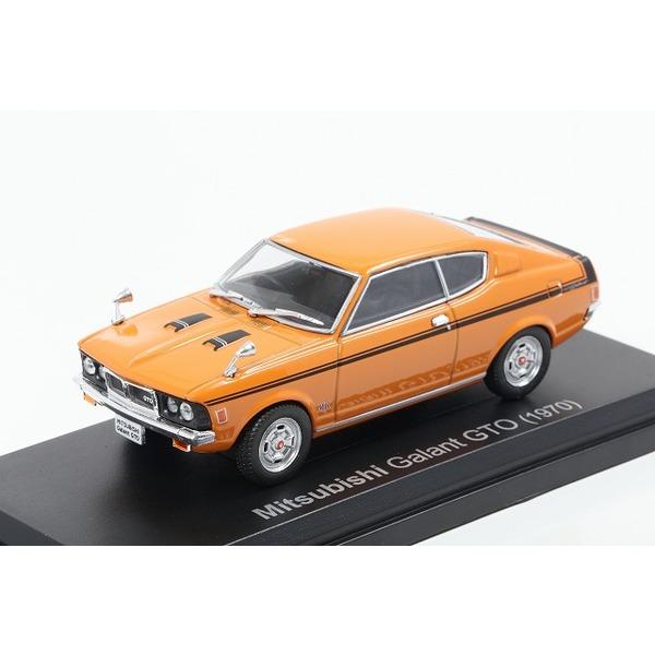 【NOREV】 1/43 三菱 ギャラン GTO 1970年 オレンジ
