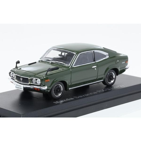 【ノレブ】 1/43 マツダ サバンナ RX-3 1972 ダークグリーン