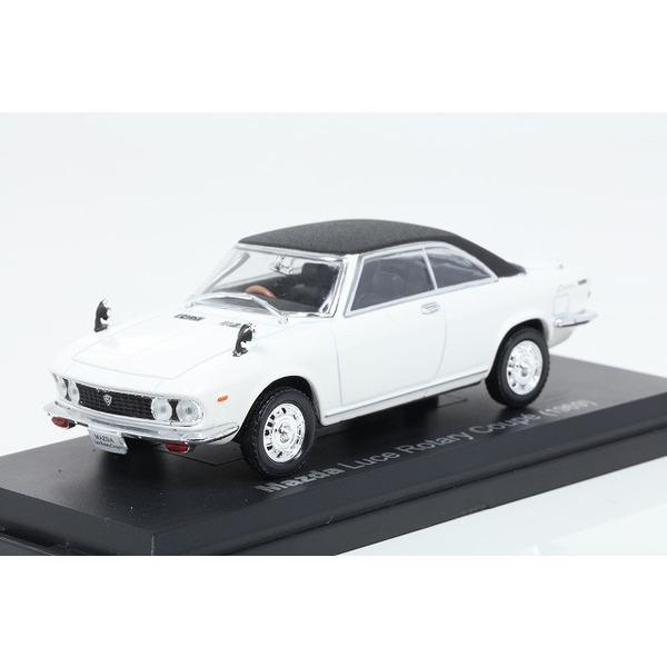 【ノレブ】 1/43 マツダ ルーチェ ロータリークーペ 1969 ホワイト/ブラック