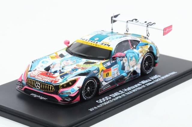 GOOD SMILE RACING 1/43 グッドスマイル 初音ミク AMG 2018最終戦ver.