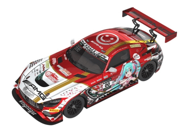 GOOD SMILE RACING 1/43 Mercedes-AMG Team GOOD SMILE 2019 SUZUKA 10HOURS ver.