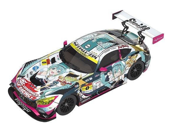 GOOD SMILE RACING 1/64 グッドスマイル 初音ミク AMG 2018 SUPER GT ver.
