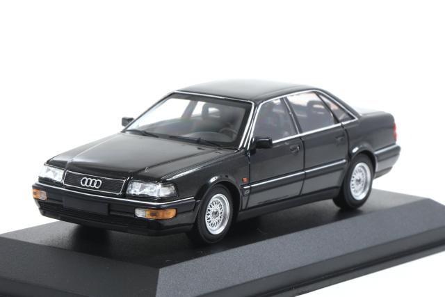 MAXICHAMPS 1/43 Audi V8 1988 black met.