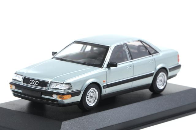 MAXICHAMPS 1/43 Audi V8 1988 silver met.