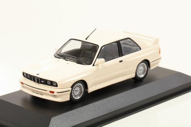 MINICHAMPS 1/43 BMW M30 (E30) 1987 ホワイト  MAXICHAMPSシリーズ