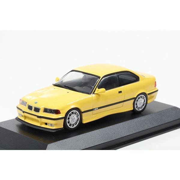 【MINICHAMPS】 1/43 BMW M3 (E36) 1992 イエロー ※MAXICHAMPSシリーズ