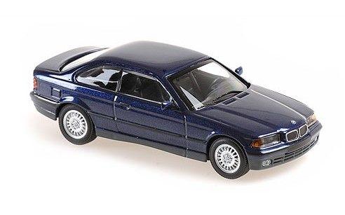 MINICHAMPS 1/43 BMW 3-シリーズ クーペ 1992 ブルーメタリック MAXICHAMPSシリーズ