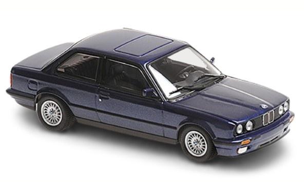 MINICHAMPS 1/43 BMW 3-シリーズ (E30) 1989 ブルーメタリック MAXICHAMPSシリーズ