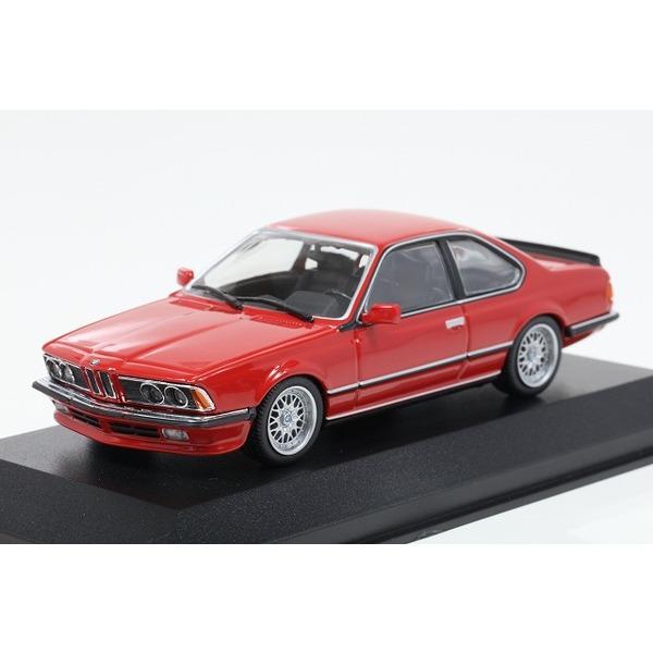 【ミニチャンプス】 1/43 BMW 635 CSI (E24) 1982 レッド ※MAXICHAMPSシリーズ