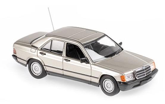 MINICHAMPS 1/43 メルセデス ベンツ 190E 1984 ゴールドメタリック MAXICHAMPSシリーズ