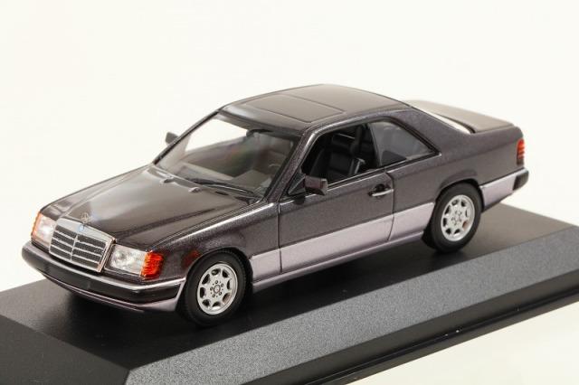 MINICHAMPS 1/43 メルセデス ベンツ 320CE (C 124) 1991 パープル  MAXICHAMPSシリーズ