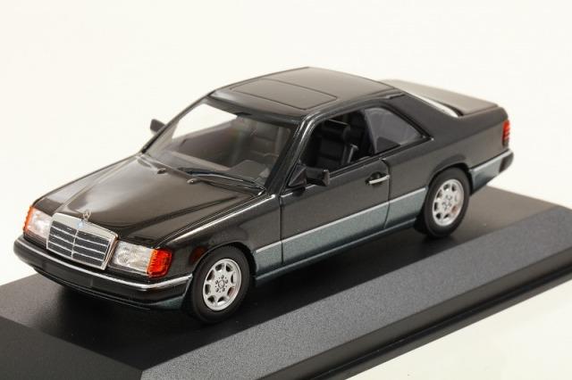 MINICHAMPS 1/43 メルセデス ベンツ 320CE (C 124) 1991  ブラックメタリック  MAXICHAMPSシリーズ