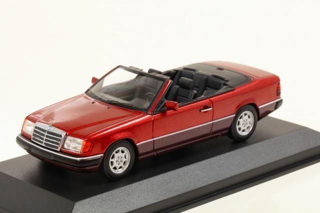 MINICHAMPS 1/43 メルセデス ベンツ 300 CE 24 (A 124) 1991レッドメタリック  MAXICHAMPSシリーズ