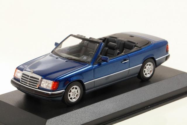 MINICHAMPS 1/43 メルセデス ベンツ 300 CE 24 (A 124) 1991 ブルーメタリック  MAXICHAMPSシリーズ
