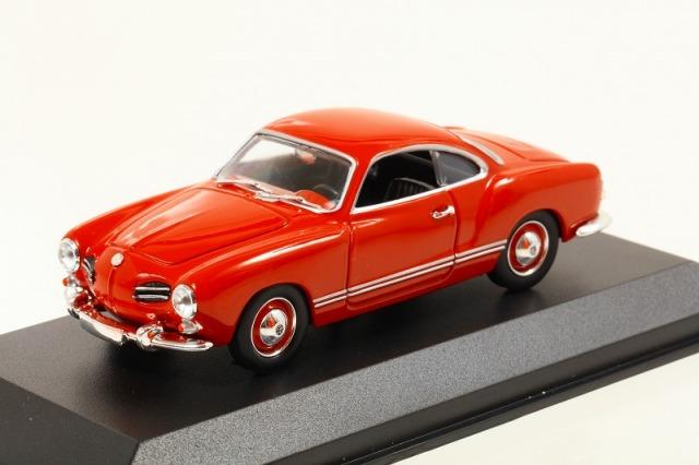 MINICHAMPS 1/43 フォルクスワーゲン カルマン ギア クーペ 1955 レッド  MAXICHAMPSシリーズ