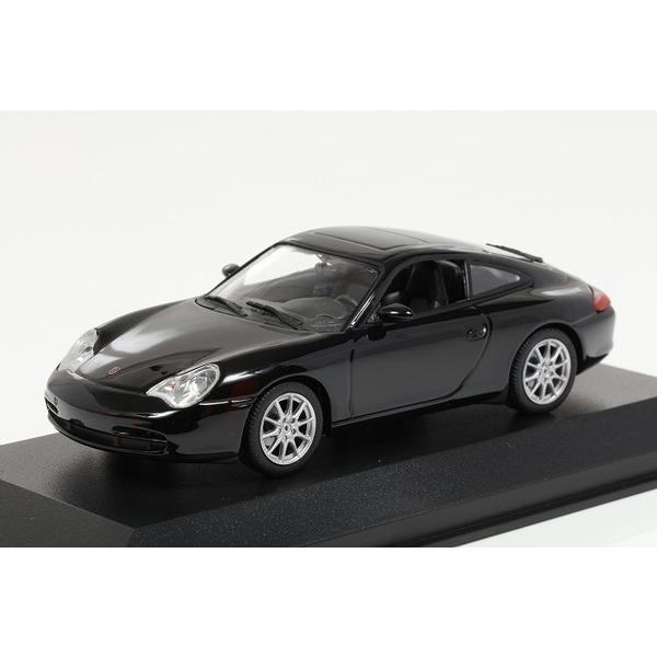 【ミニチャンプス】 1/43 ポルシェ 911 クーペ (2001) ブラック※MAXICHAMPS シリーズ