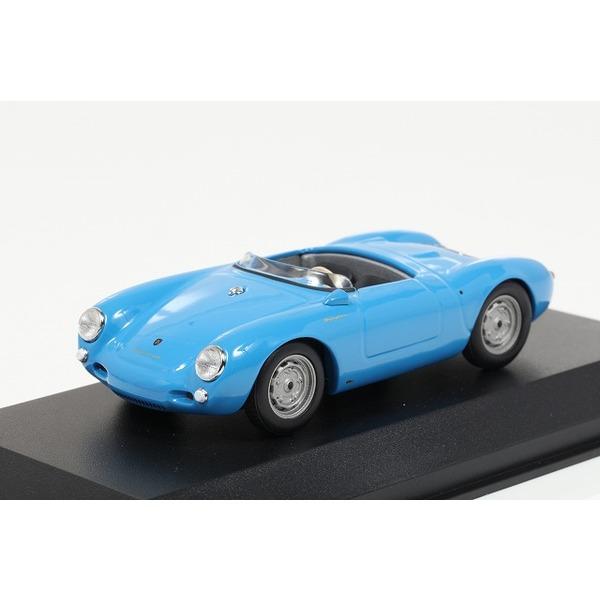 【ミニチャンプス】 1/43 ポルシェ 550 スパイダー (1955) ブルー ※MAXICHAMPS シリーズ