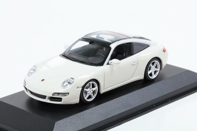 MINICHAMPS 1/43 ポルシェ 911 タルガ 2006 ホワイト MAXICHAMPSシリーズ