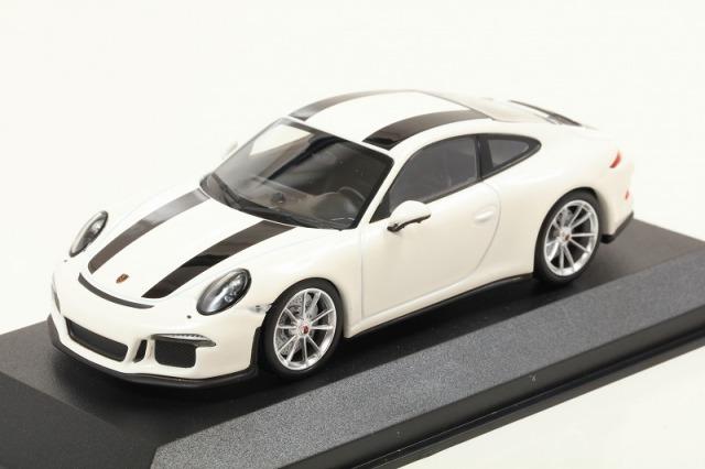 MINICHAMPS 1/43 ポルシェ 911 R 2016 ホワイト ※MAXICHAMPSシリーズ