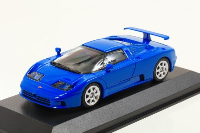 MINICHAMPS 1/43 ブガッティ EB 110 1994 ブルー ※MAXICHAMPSシリーズ