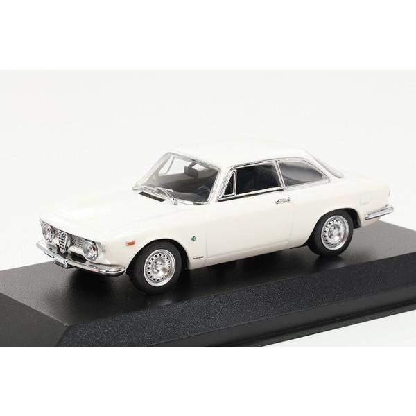 【ミニチャンプス】 1/43 アルファ ロメオ ジュリエッタ スプリント GTA (1965) ホワイト ※MAXICHAMPS シリーズ