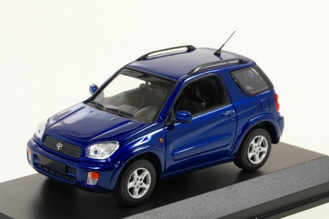MINICHAMPS 1/43 トヨタ RAV 4 2000 ダークブルーメタリック ※MAXICHAMPSシリーズ